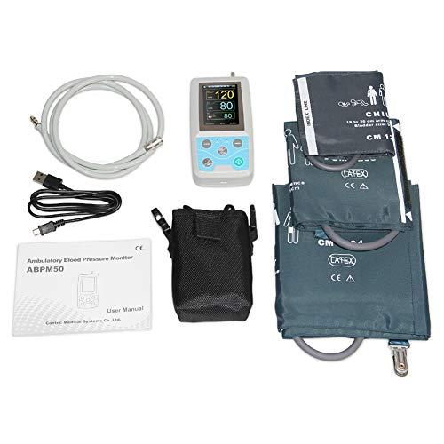 LWQ 24 Stunden Ambulante Blutdruckmessgerät Holter ABPM Holter BP-Monitor mit Software Contec