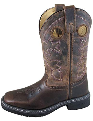 Smoky Mountain Boots boys Cowboy Boots Brown Size: 10 Little Kid