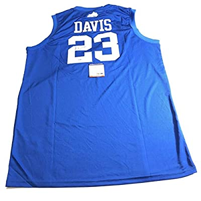 Anthony Davis signed jersey PSA/DNA Lakers Autographed Kentucky Wildcats