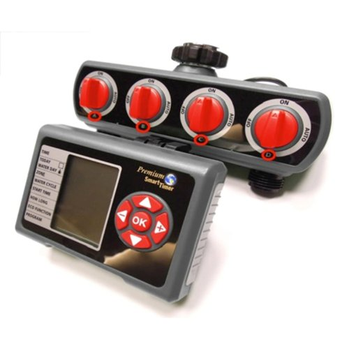RAINWAVE 4-Zone Auto Distributor and Programmable Electronic Water Timer