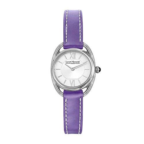 Saint Honoré Reloj Analogico para Mujer de Cuarzo con Correa en Cuero 7210261AIN-PUR