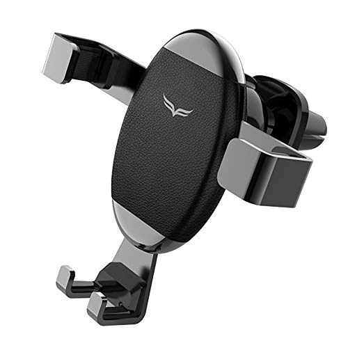 Car Mobile Phone Holder car Holder car Navigator air Outlet Gravity car Holder, Black