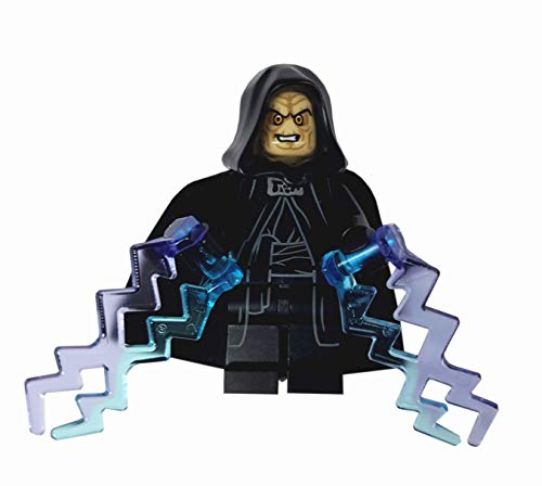 LEGO Star Wars - Minifigur Emperor Palpatine with two lighflashes out of set 75093 NEW RARE