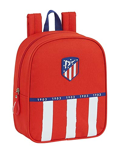 Mochila Safta Infantil de Atlético de Madrid 1   Equipación 20 21  220x100x270mm