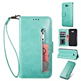 ZTOFERA Samsung Galaxy J4 Plus Flip Wallet Case,Magnetic