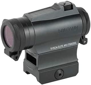 HOLOSUN Elite 2 MOA Dot/65 MOA Circle Dot Solar/Battery Micro Green Dot Sight, HE515CM-GR Elite