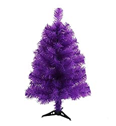 Purple Halloween tree for the tabletop