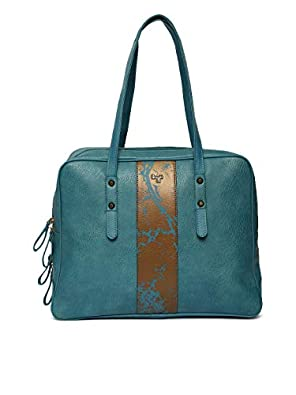 Baggit L Women's Shoulder Bag (Green) (Unitsnits 1)
