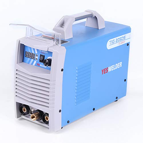 YESWELDER 200 Amp HF TIG Torch/Stick/Arc TIG Welder 110 & 220V Dual Voltage TIG Welding Machine