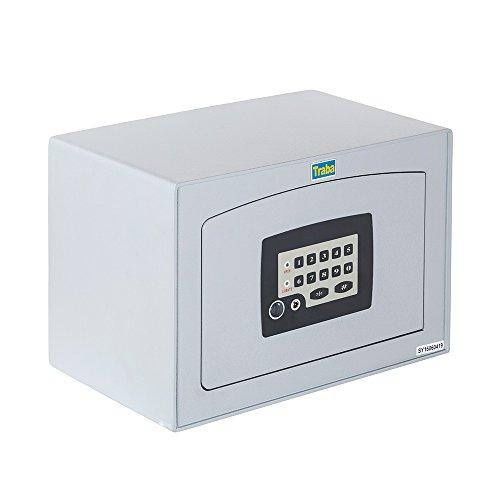 Traba 38012 Caja Fuerte de Sobreponer, Gris, 16 l