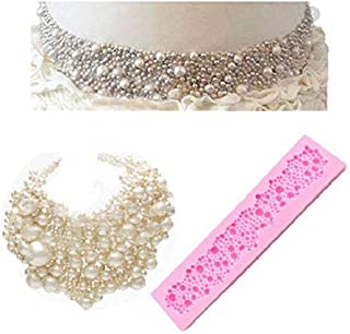 S.Han Silicone Pearl Neckless Fondant Mould Gumpaste Mold Cake Decorating Tool Baking bakeware