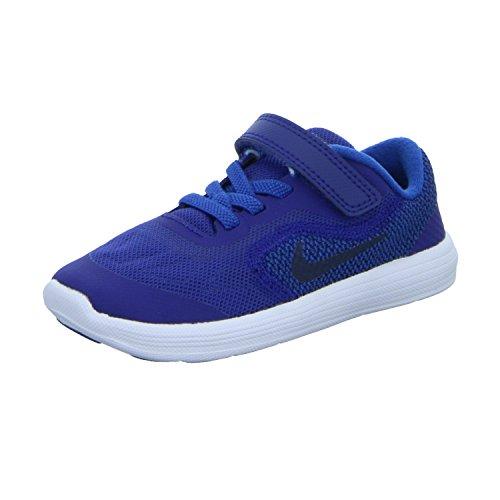 Nike Revolution 3 (TDV) Sportschuhe für Kinder, Jungen, blau, 19.5 EU