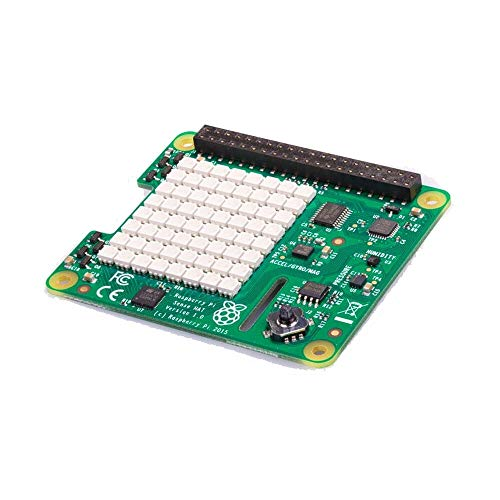 ZHI BEI LCRZBH Raspberry Pi& Orange Pi Astro Pi Sense HAT Sensor Expansion Board Integrated Temperature & Humidity Sensor for RPi 3B+ High-performance Development Board