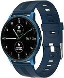 ZHENAO Smart Watch, Lw11 Smart Watch Sports Watch de 1.28 Pulgadas Tft Pantalla Tft Bt5.0 Fitness Tracker Ip67 Deportes Impermeables para Android Ios, Fácil de Usar Regalos de vacac
