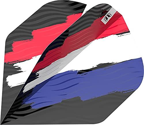 Target Darts Flag Design Pro Ultra Dart Flights, Niederländische Flagge, No.2