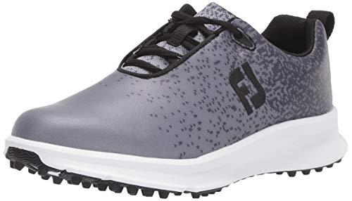 FootJoy Women's FJ Leisure Golf Shoes, Black, 5 M US