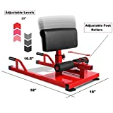 X-Factor Sissy Squat Multi Function Home Gym Abdominal Core Abs Push Up, Sit up, Leg Exercise, Full Body Strength Training