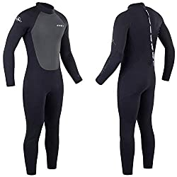 Full length winter wetsuit - 6 mm neoprene on the body and 5 mm under the arms for full range of motion Glued and blind stitched and ergonomic panelling for maximum comfort and durablily - high quality flexible wetsuit provides high freedom of moveme...