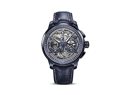 Maurice Lacroix Masterpiece Automatik Uhr Chronograph Skeleton, Limitierte Ed.