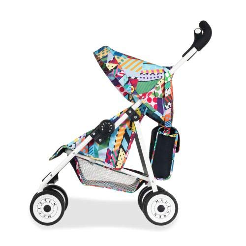 Maclaren Junior XT Jason Woodside- Imagination at Play. Toy Stroller fits Doll up to 18in. Diaper Bag Included