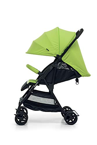 Foppapedretti Piùleggera Pushchair Sport Green Foppapedretti Lightweight stroller, suitable from birth, weighs only 3.6 kg - weight without accessories It is equipped with footrest and removable extendable hood with UPF 50+ sun protection (UV protection with 98% protection). Aluminium frame, folds flat for easy storage 4