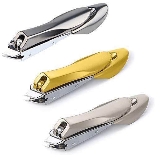 3PCSCortauñas,Cortaúñas Profesionales,Cortador de uñas para Hombres y Mujeres,Cortauñas para manicura & pedicura