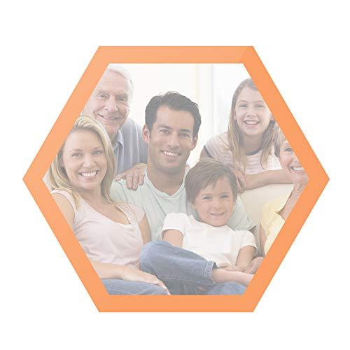 Harddo Hexagon Magnetische fotolijst, magnetische hexagon polygon lijst, mode DIY eengezinshuishouder, huwelijkscadeau, decoratie, kunstschilderij