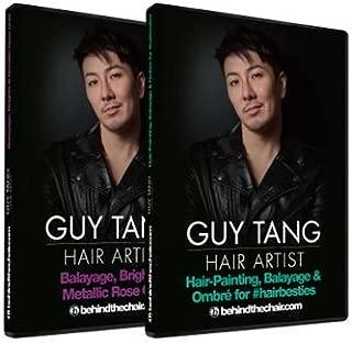 New! Guy Tang Balayage, Brights & Metallic Rose Gold & Hair-Painting, Balayage & Ombre 2 DVD Set!