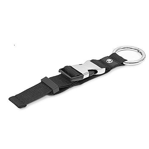 achilles Soporte de la Chaqueta en Negro para Las Bolsas de Compras Tamaño Ajustable Correa de 33 cm de Longitud