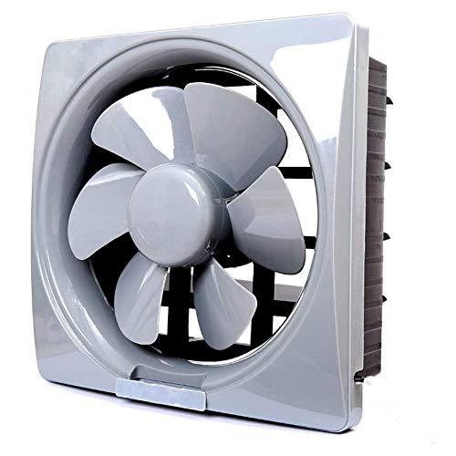 SHYPT Ventilador de ventilación de Humos de Cocina con Rejillas Baño Fácil de Instalar Extractor Ventilador de Escape silencioso de Alta Potencia para Montaje en Pared