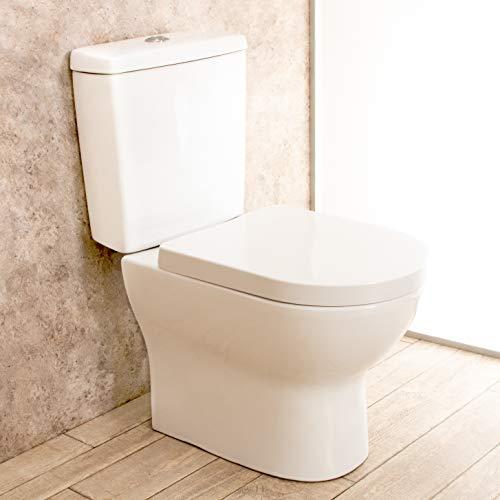 WC con Cassetta Esterna Comfort con Lo Scarico a Muro L38xP70xA79cm