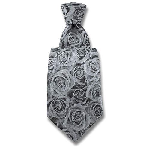 Robert Charles - Cravate Rose Argent