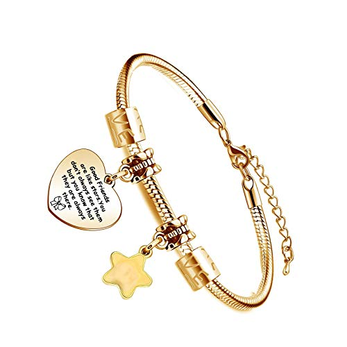 Exquisite Women Jewellery Gold Plated Engraved Heart Shaped Pendant Chain