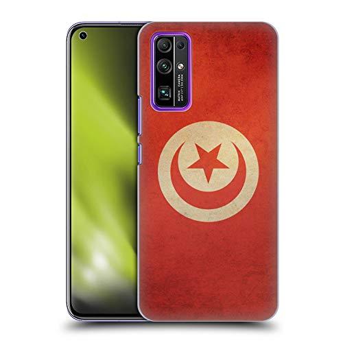 Head Case Designs Tunisia Tunesisch Vintage Fahnen 6 Harte Rueckseiten Handyhülle Hülle Huelle kompatibel mit Huawei Honor 30