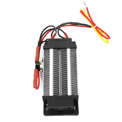 Calentador de aire PTC, aislamiento estable Calentador de aire de cerámica PTC duradero, tubo de aluminio eficiente y seguro para aire acondicionado Calentador eléctrico(110V300W)