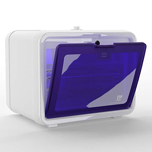 UV Sanitizer Box LETORS 10L Large Capacity UV Light Sanitizer Box Sterilize Baby Bottles Toys Smartphones Salon Tools or Other Items UV Sterilizer Box for Home School or Salon