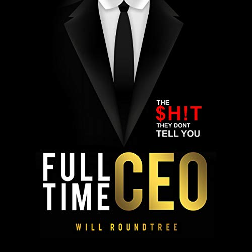 Full Time CEO audiobook cover art