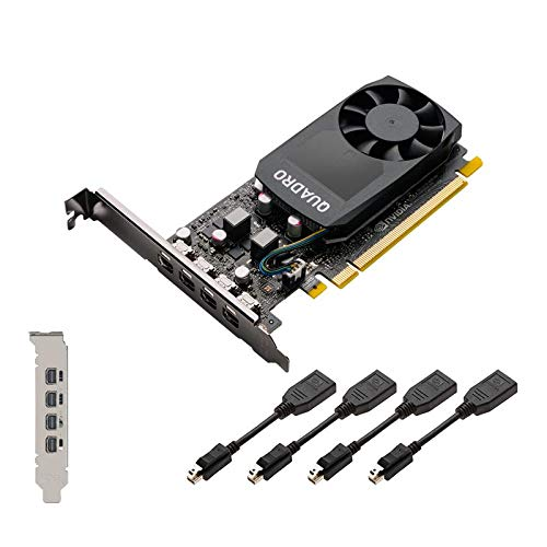 PLACA DE VIDEO NVIDIA QUADRO - P620 2GB GDDR5 128 BITS (4X MDP) - VCQP620V2-PB