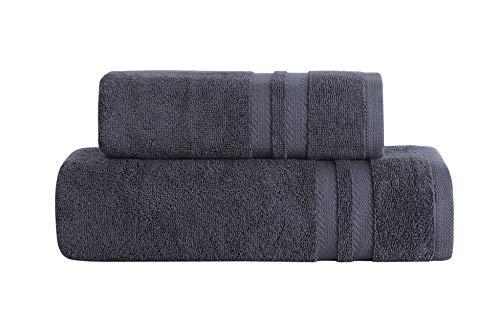 SAFY HOME STYLE Turks bad Handdoeken, 100% Katoen Handdoekenset, 600 GSM Zeer absorberende Ring Lepel Handdoekenset
