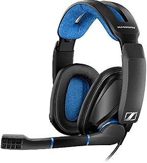 Sennheiser GSP 300, Around-the-Ear Headphones, Wired, Rotating Microphone, Black
