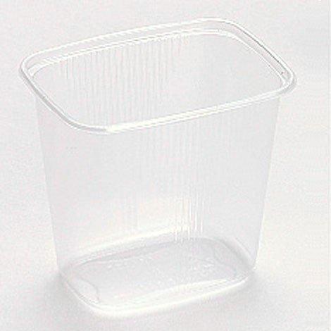 Feinkostbecher Verpackungsbecher & Deckel PP 500ml eckig 250 Stück