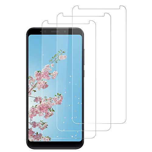 DOSNTO 3 Pack Protector de Pantalla para Xiaomi Redmi 5 Plus, Cristal Templado, Dureza 9H, Resistencia al Desgaste, Resistencia al Rayado, fácil de Limpiar, Sin Burbujas, Funda Compatible