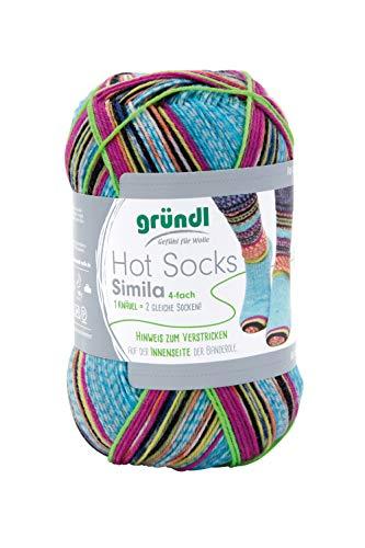 Gründl Hot Socks 'Simila', 4fach, 100 g Farbe 304
