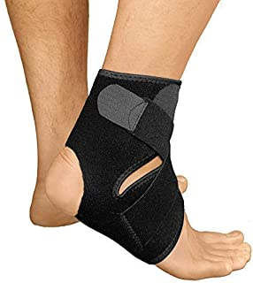 Ankle Brace for Women and Men by RiptGear - Adjustable Ankle Support and Compression for Sprained Ankle – Ankle Stabilizer for Running, Basketball, Volleyball, Sports - Size (Small)