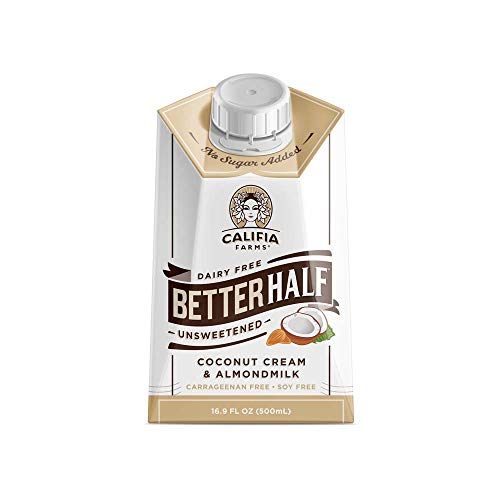 Califia Farms Unsweetened Better Half Coffee Creamer