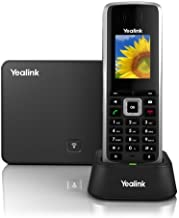 Yealink W52P DECT Cordless IP Phone and BaseStation. 1.8-Inch Color LCD. 10/100 Ethernet, 802.3af PoE, Power Adapter Included