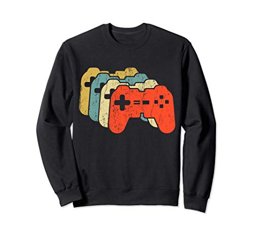 CONTROLADOR RETRO Funny Gamer Gaming Video Gamer Girl Sudadera