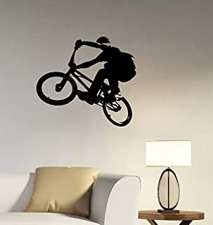 Details about  /Bicycle Bike Bicycling BMX Wall Sticker Home Kids Room Vinyl Art Decals Decor