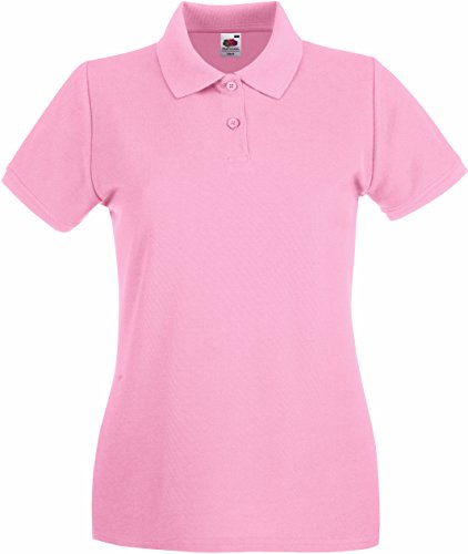 Fruit of the Loom Lady-Fit Premium Poloshirt 2017 S Light Pink