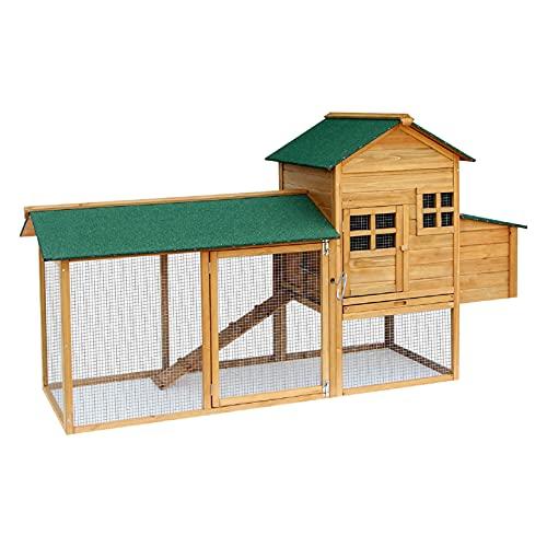 Lovupet 2135 - Pollaio, gabbia, aviario in legno, per piccoli animali come anatre, di qualità